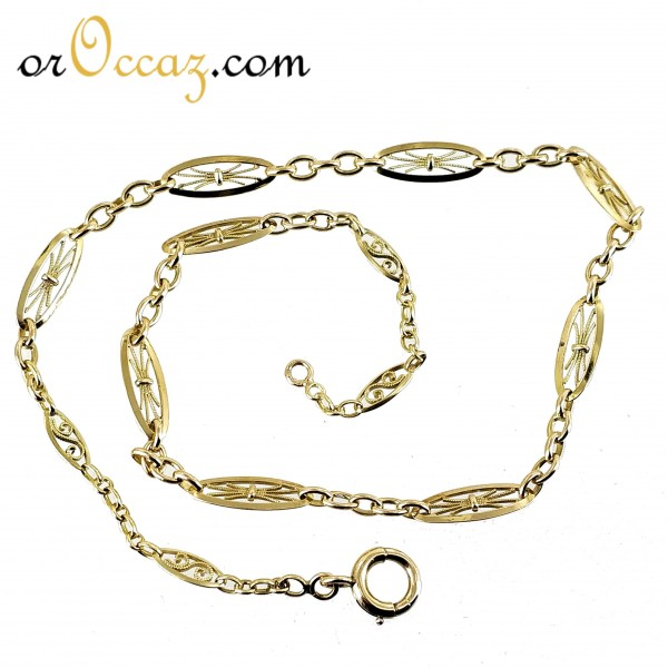 Collier maille ancienne