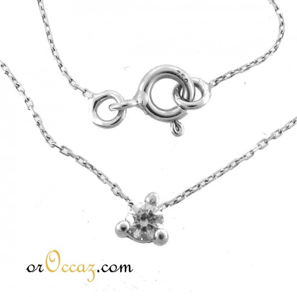 Collier or et oxyde