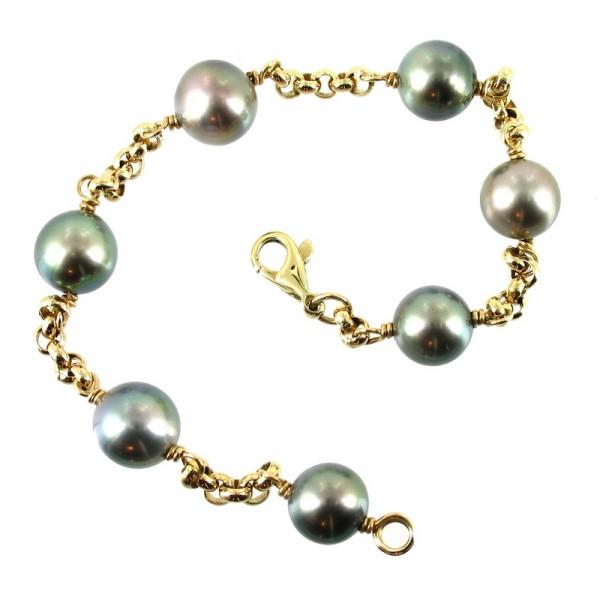 bijoux d occasion oroccaz bracelet perles de tahiti. Black Bedroom Furniture Sets. Home Design Ideas